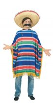 Costume PONCHO MEXICANO adulto