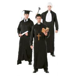 Costume tunica GIUDICE LAUREATO PRETE