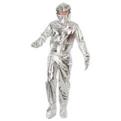Costume ASTRONAUTA argento