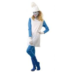 Costume GNOMETTA BLU