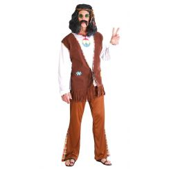 Costume HIPPIE FLOWER uomo