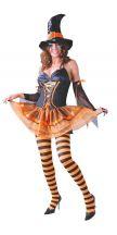 Costume STREGA arancione
