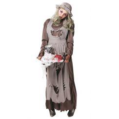 Costume DONZELLA ZOMBIE