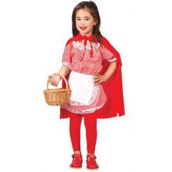 Costume CORAGGIOSA CAPPUCCETTO ROSSO