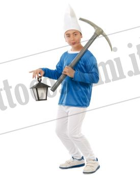 Costume NANO azzurro
