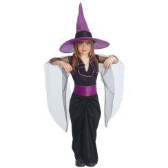 Costume STREGA bambina VIOLA