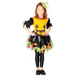 Costume da ragazza Zucca