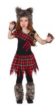 Costume SCOTISH WOLF bambina