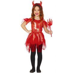 Costume piccola DIAVOLESSA bambina