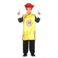 Costume CINESE GIALLO