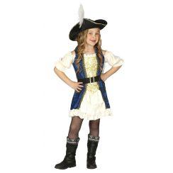 Costume CORSARA IMPAVIDA bambina