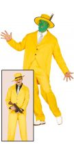 Costume IRONICO GANGSTER GIALLO