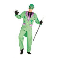 Costume MALVAGIO VERDE ENIGMISTA