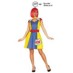 premium selection e0e54 3ebdd Costume RAGAZZA POP ART