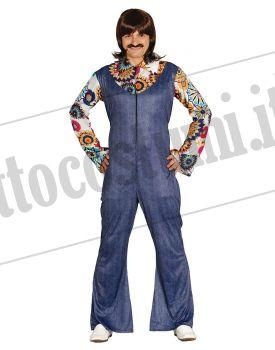 Uomo Anni 70.Costume Tuta Uomo Anni 70