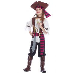 Costume piccola PIRATESSA DEI 7 MARI
