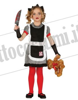 Costume BAMBOLA ASSASSINA bambina b6c79c9a1965