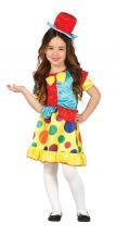 Costume PAGLIACCETTA colorata