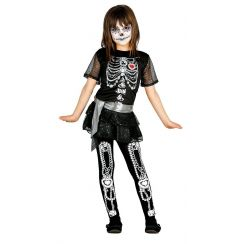 Costume SHINNY SKELETON GLAMOUR