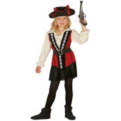 Costume PIRATESSA COMBATTIVA bambina