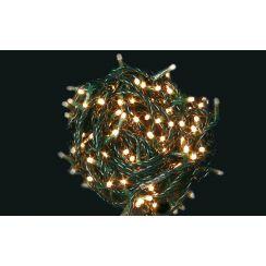 Ghirlanda con 100 mini lampadine bianche