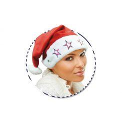 Cappello BABBO NATALE con stelle