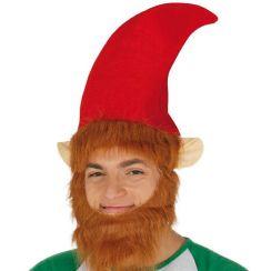Cappello Elfo con barba