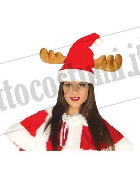 Cappello NATALIZIO con orecchie da RENNA 34f982fcfce8