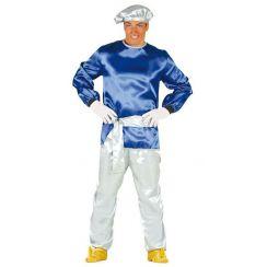 Costume SIGNOR PAGGIO blu
