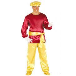 Costume SIGNOR PAGGIO rosso