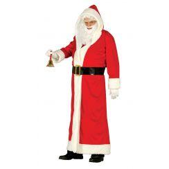 Costume BABBO NATALE cappotto lungo lusso
