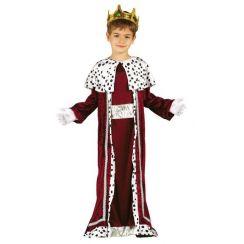 Costume RE MAGIO rosso bambino