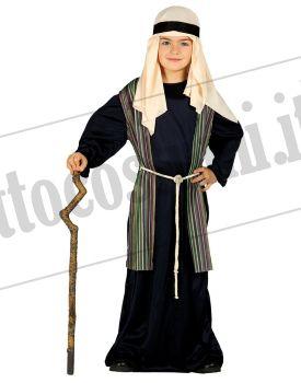 Costume PASTORE BAMBINO BLU