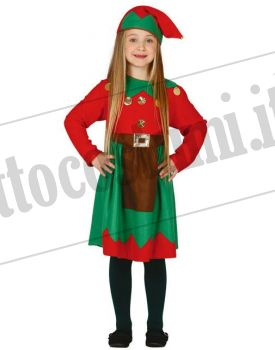 Costume ELFA bambina