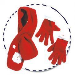 Sciarpa e guanti  NATALE bambini