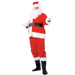 Costume BABBO NATALE EXTRA LUSSO