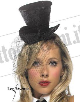 Mini cappellino con veletta 1b9f29611182