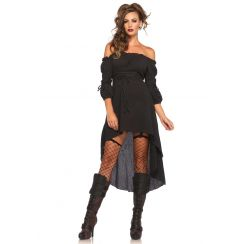 Vestiti Per Halloween Per Ragazze.Costume Gauze High Low Peasant