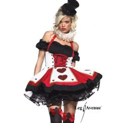 Costume regina di cuori PRETTY PLAYING CARD