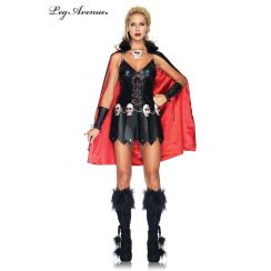Costume da Guerriera delle Tenebre WARRIOR WOMAN
