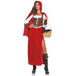 Costume CLASSIC RED RIDING HOOD