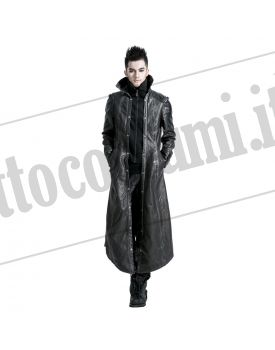 best loved 7249d b7424 Cappotto lungo pelle uomo
