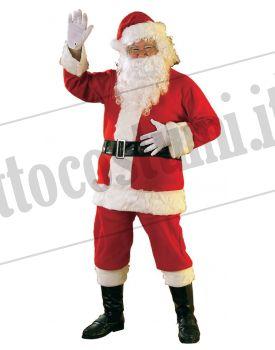 Costume Babbo Natale lusso