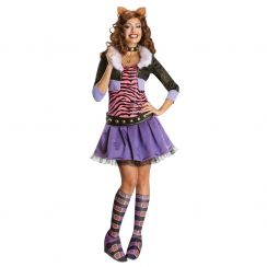 Costume CLAWDEEN WOLF deluxe ufficiale Monster High