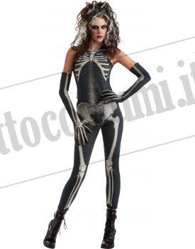 Costume DONNA SCHELETRO adulto 55c8511a4c39