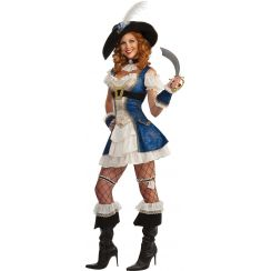 Costume piratessa BONNY BLEU