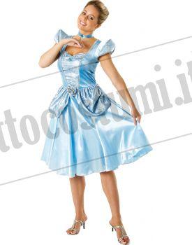 5541c8bee0dce Costume ufficiale Disney CENERENTOLA adulto