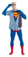 Costume SUPERMAN tuta 2nd Skin adulto