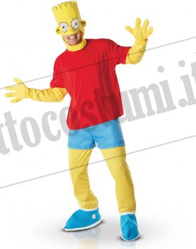 Costume BART SIMPSON adulto