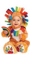 Costume da baby LEONE ARCOBALENO
